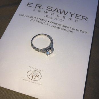 Photo Of Er Sawyer Jewelers Santa Rosa Ca United States Thanks For