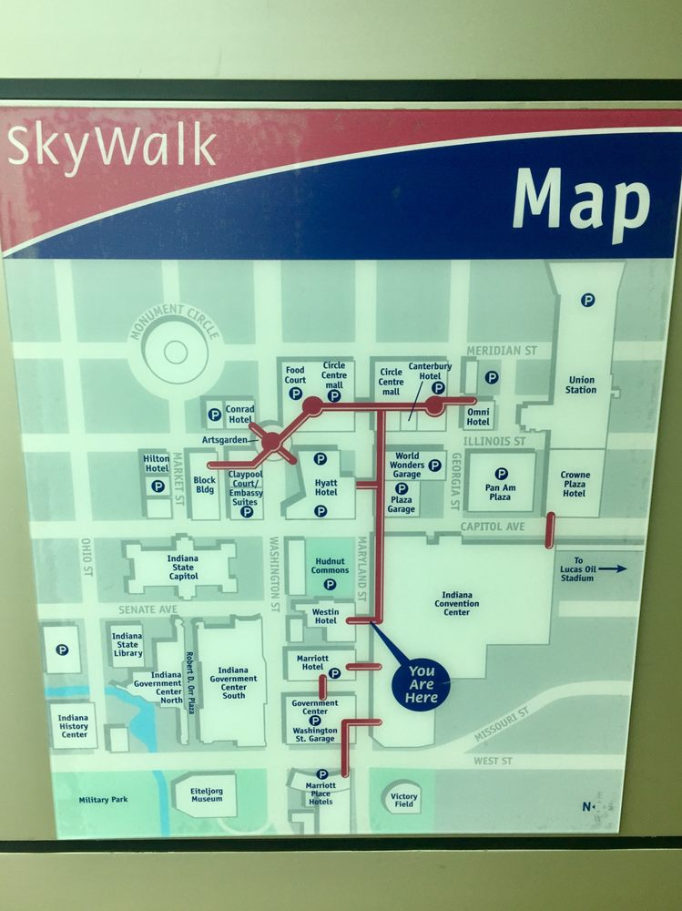SkyWalk map connecting the buildings of downtown - Yelp on indianapolis in map, greenwood indianapolis map, washington square mall indianapolis map, indianapolis zip code map, indianapolis street map, new orleans central business district map, holiday park indianapolis map, ball state university parking map, restaurants indianapolis map, jw marriott indianapolis map, central indianapolis map, north indianapolis map, white river state park map, indianapolis township map, indianapolis cultural districts map, midtown indianapolis map, mass ave indianapolis map, va hospital indianapolis map, indianapolis state map, indiana map,