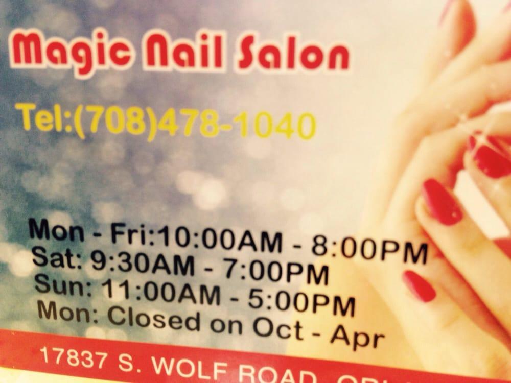 Magic Nails - 10 Reviews - Nail Salons - 17837 Wolf Rd, Orland Park ...