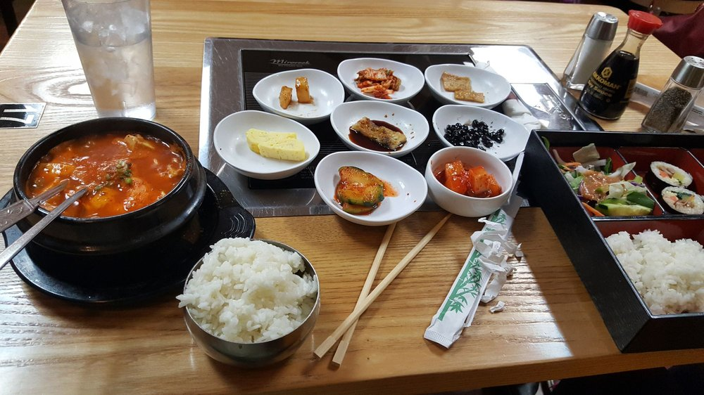 Food from Cafe Korea
