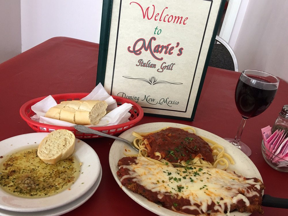Marie's Italian Grill: 110 S Silver Ave, Deming, NM