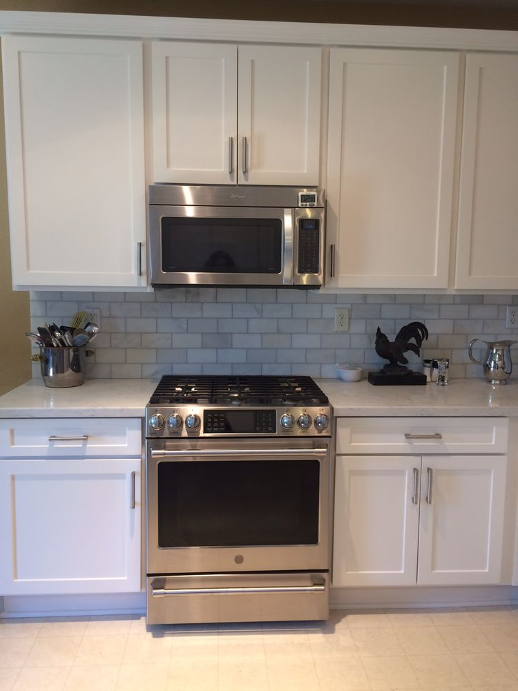 Backsplash From Floors And Decor Stove Purchased At Manuel