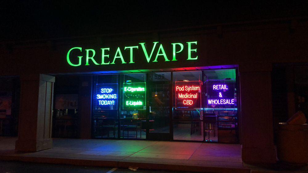 Great Vape: 986 Lundy Ave, San Jose, CA