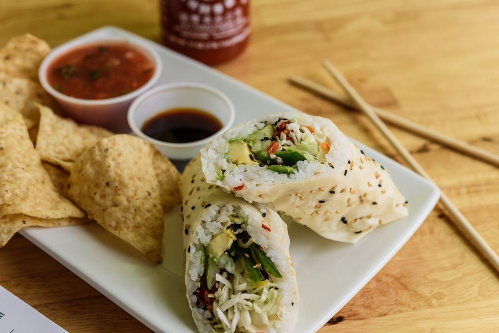 Wasabi Juan's Sushi Burritos