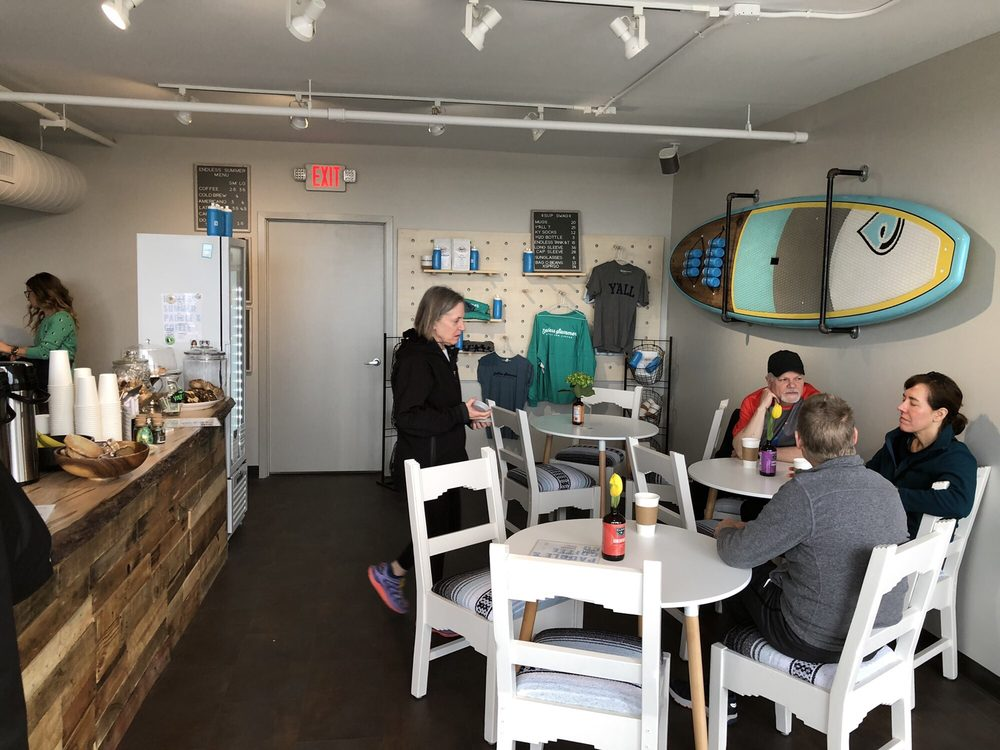 Social Spots from Endless Summer Paddle and Coffee