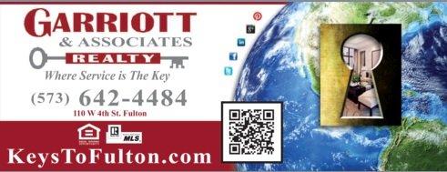 Garriott & Associates Realty: 110 W 4th St, Fulton, MO