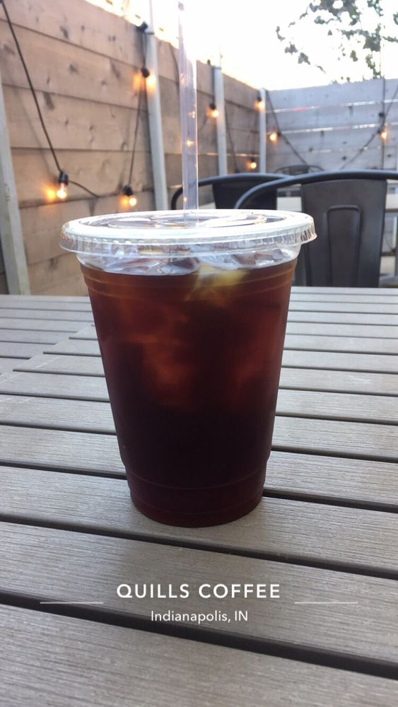 Photo Of Quills Coffee   Indianapolis, IN, United States. Cold Brew Coffee  On