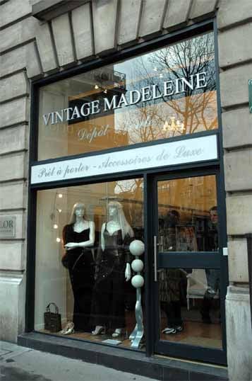 Vintage Madeleine