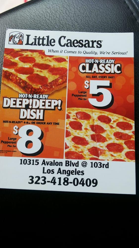 Little Caesars - Pizza - 10315 Avalon Blvd, Green Meadows ...