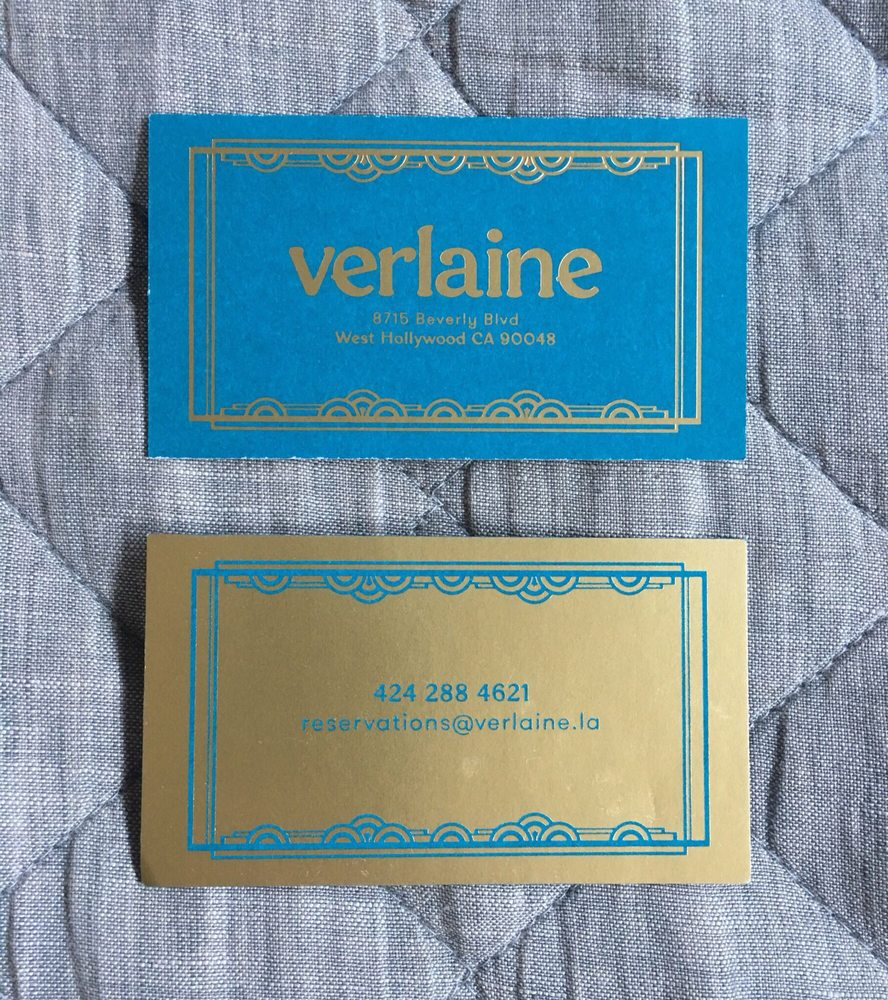 Most beautiful business cards I\'ve seen in years - Yelp