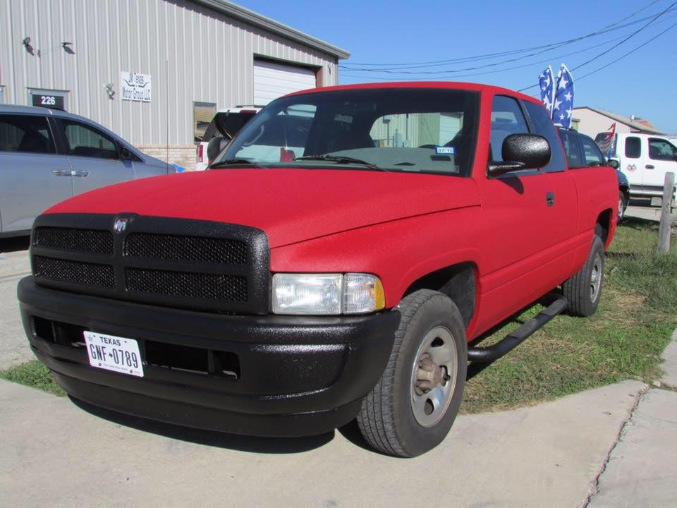 1999 dodge ram full exterior in xtra color coded to match original paint flame red and line x for Dodge ram exterior accessories