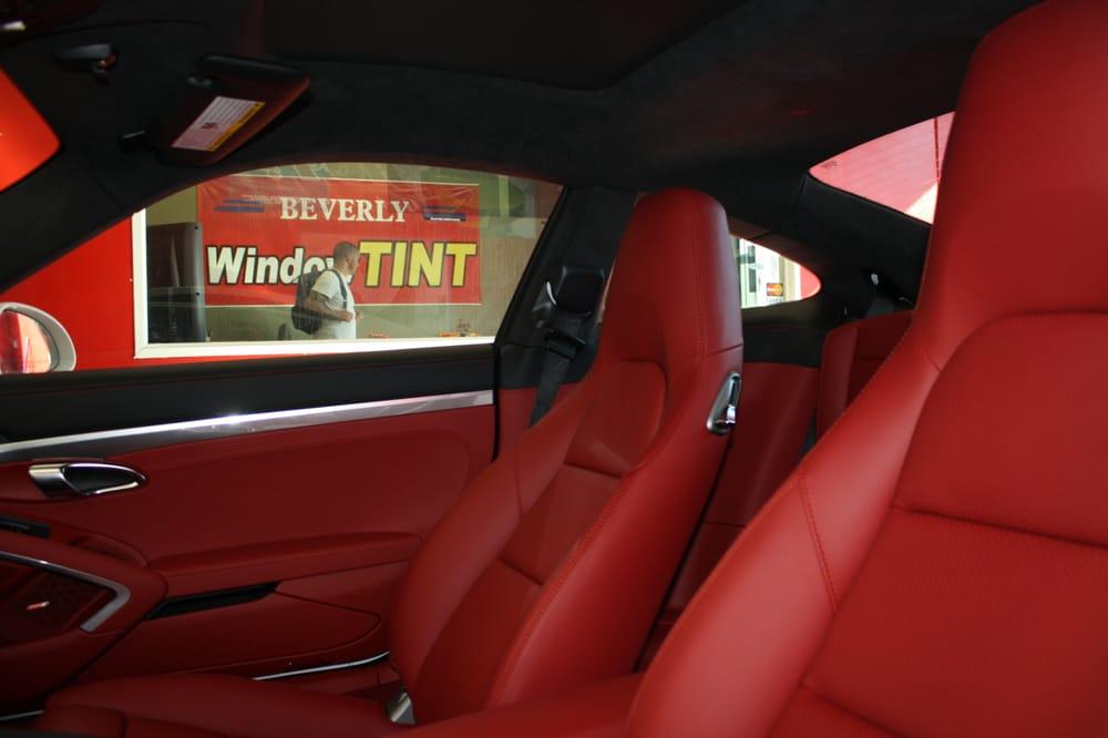PORSCHE 911 CARRERA CERAMIC TINT 30% FROM INSIDE VIEW - Yelp