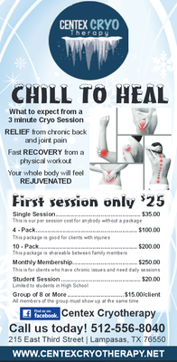 Cryotherapy Certification