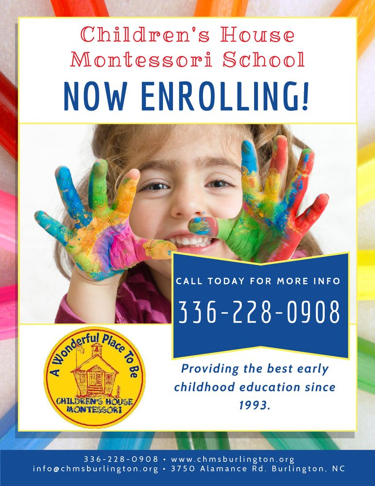 Children's House Montessori School: 3750 Alamance Rd, Burlington, NC