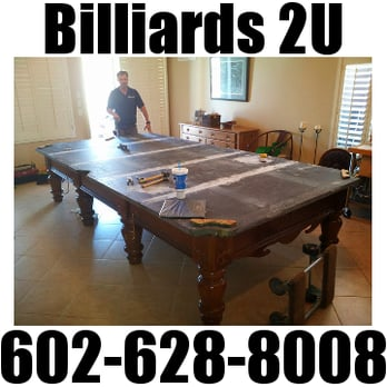 Billiards U Photos Reviews Pool Billiards E - Pool table movers phoenix