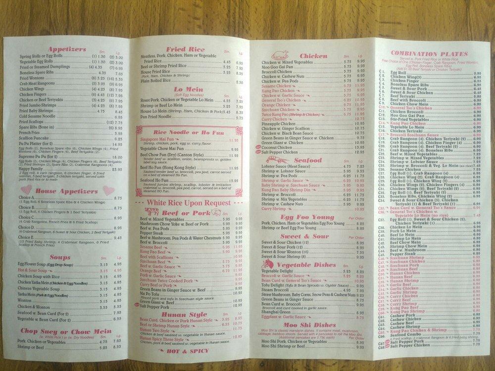 Wokky's Chinese Restaurant: 17 Main St, Bristol, VT