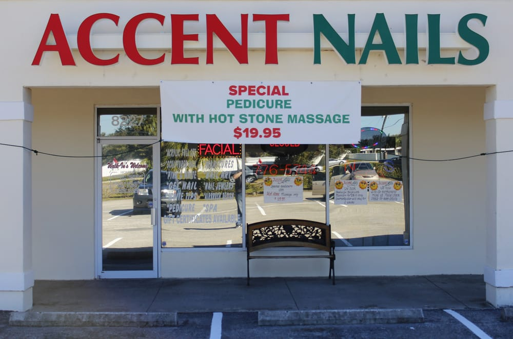 Accent nails salon nail salons 8227 us hwy 301 n for Accents 3101 salon