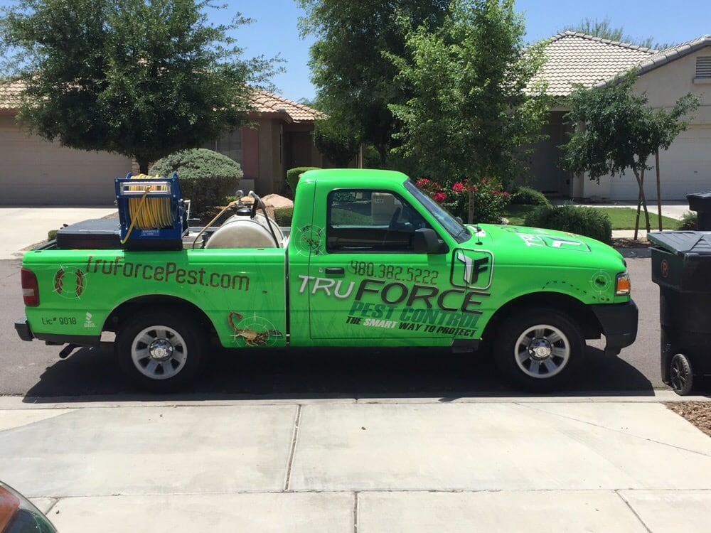Photo Of Truforce Pest Control Chandler Az United States The Truck