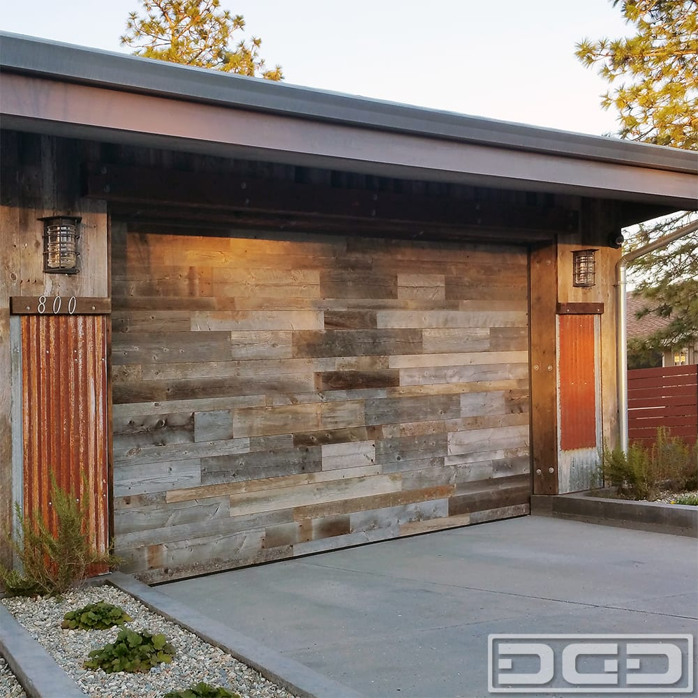 orange county ca reclaimed wood garage doors custom