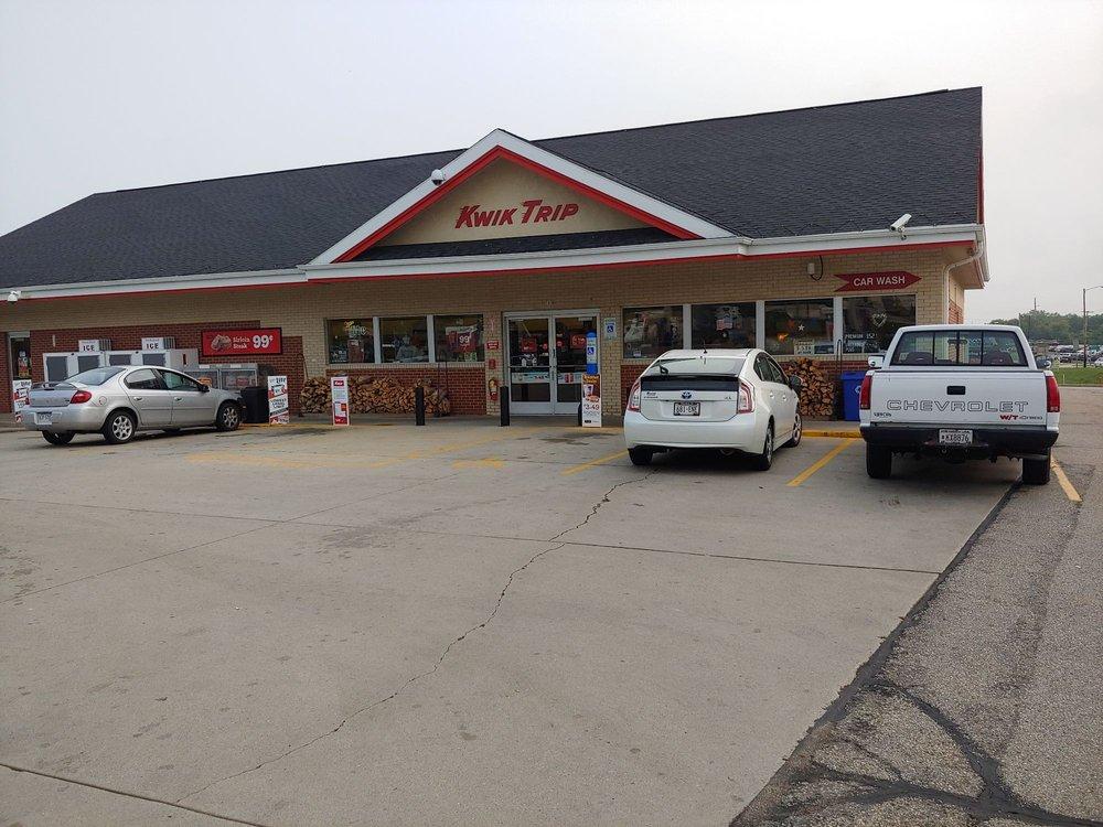Kwik Trip: 500 Falcon Ridge Dr, Burlington, WI
