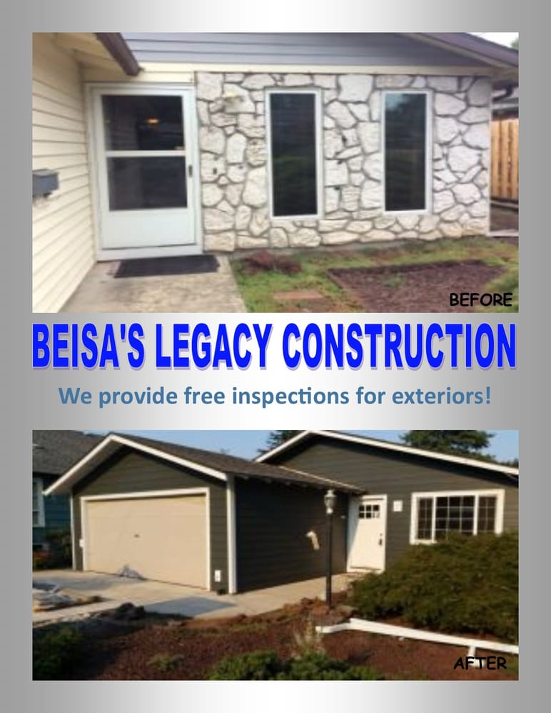 Beisa S Legacy Construction Is Now Offering Free