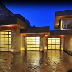and translucent railings luxury door garage attractive to pertaining