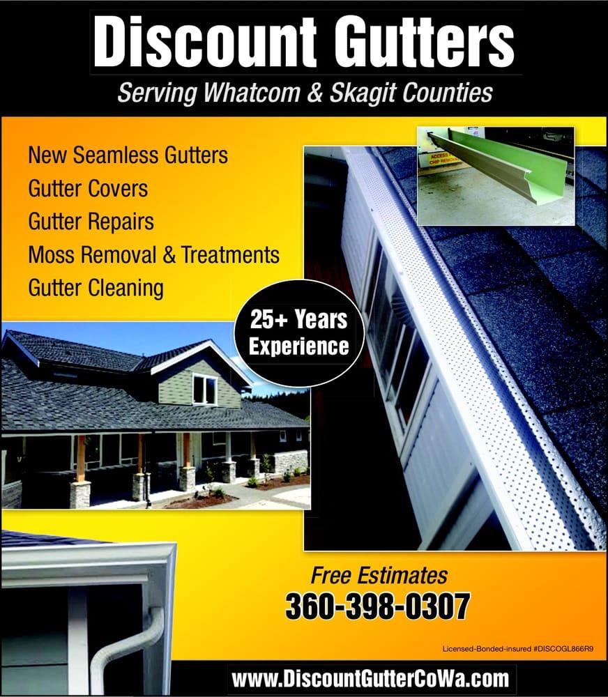 Discount Gutters: 378 W King Tut Rd, Bellingham, WA