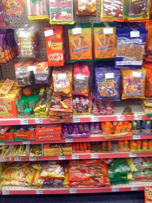 good selection of mexican candy yelp