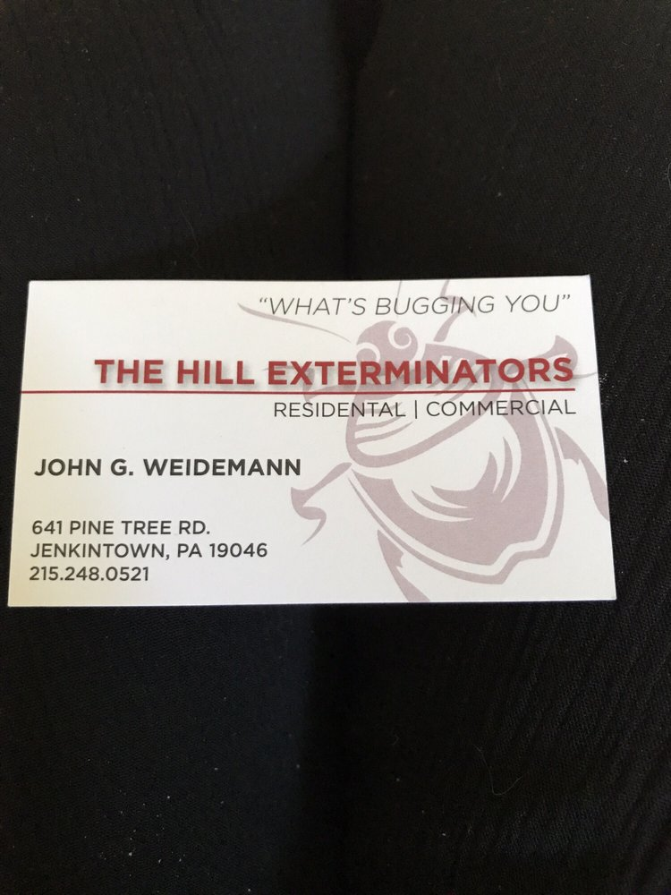 Hill Exterminators: 641 Pinetree Rd, Jenkintown, PA
