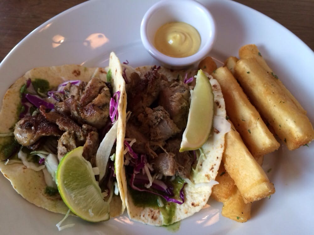 Duck Tacos With Yucca Fries Yelp