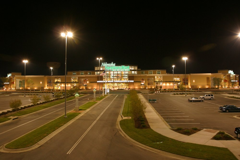 Nebraska Furniture Mart Kc At Night Yelp