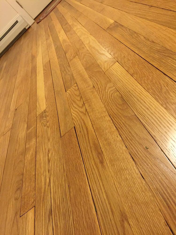 My newly refinished hardwood floor yelp for Hardwood floor contractors