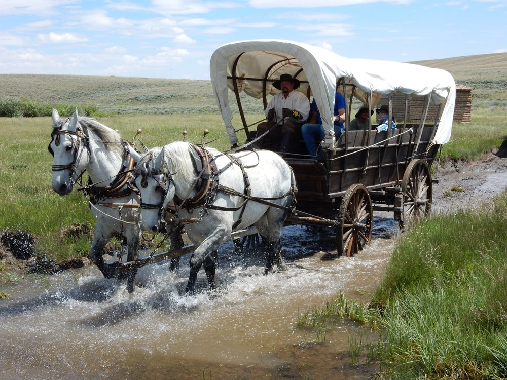 Historic Trails West: Mills, WY