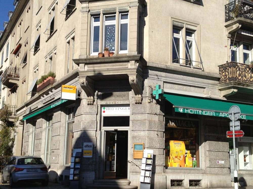 Hotelfoyer Hottinger Zürich : Hottinger apotheke freiestrasse kreis