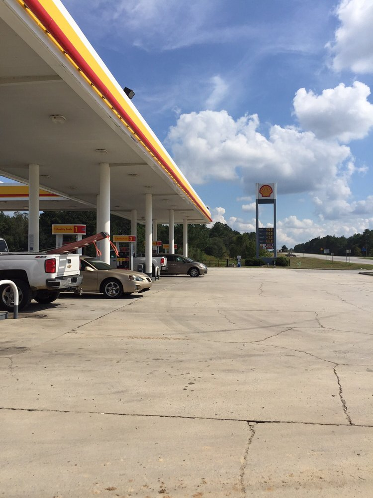 Shell: 6640 Georgia 67, Brooklet, GA