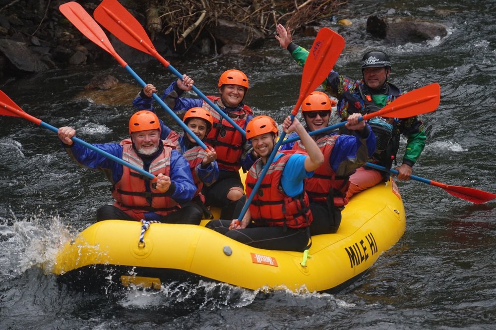 Mile Hi Rafting: 3627 Alvarado Rd, Dumont, CO