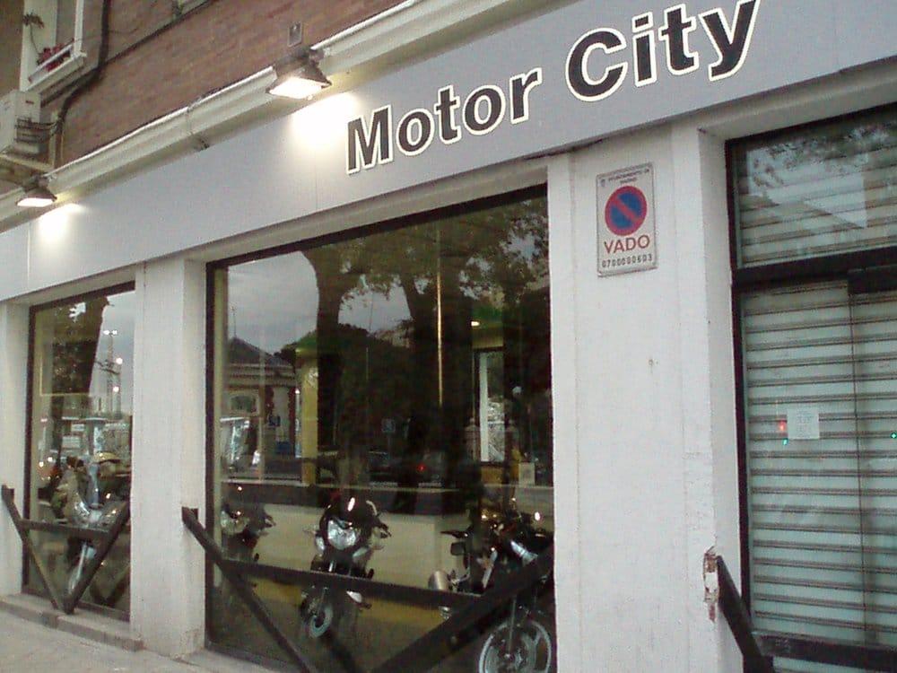Motor City Motorcycle Dealers Calle De Bravo Murillo