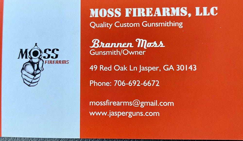 Moss Firearms: 49 Red Oak Ln, Jasper, GA