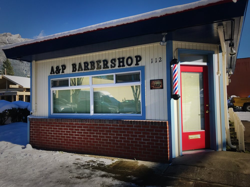 A&P Barbershop: 112 Bendigo Blvd N, North Bend, WA
