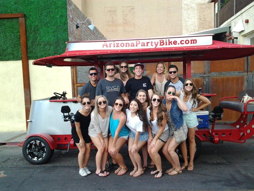 Arizona Party Bike - Tempe