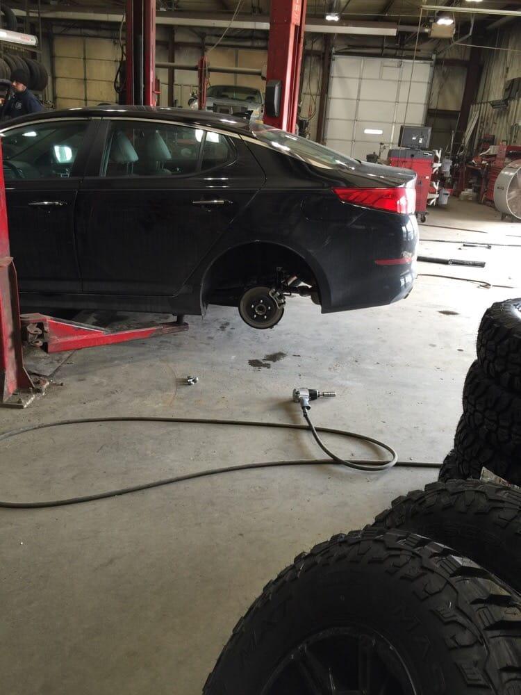 Aurora Tire Center: 214 Importing St, Aurora, IN