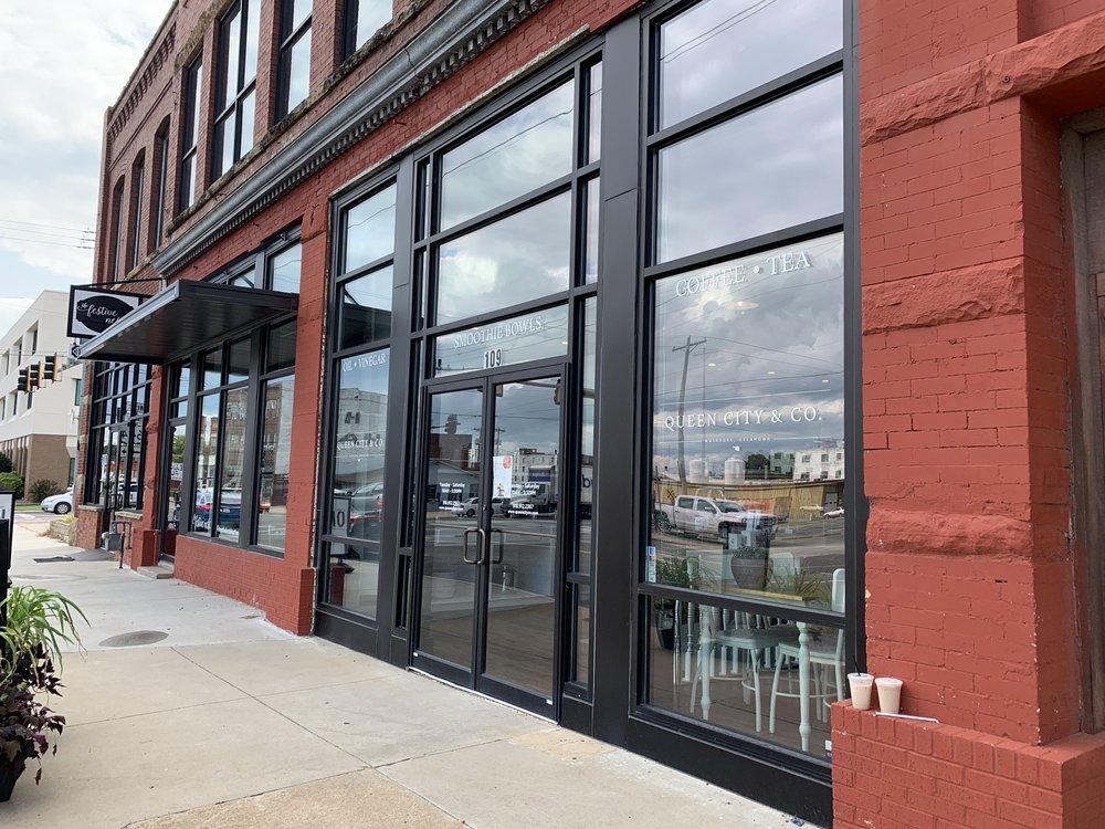 Queen City + Co.: 109 N Main St, Muskogee, OK