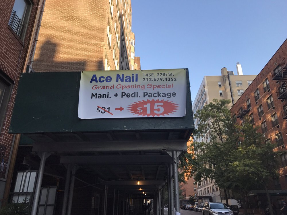 Ace nail palace spa 13 photos 21 reviews nail for 27th street salon