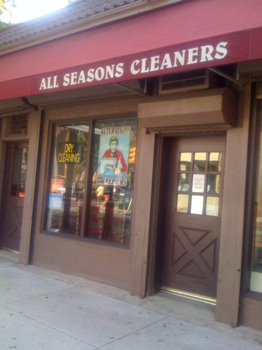 All Seasons Cleaners: 101 S 40th St, Philadelphia, PA