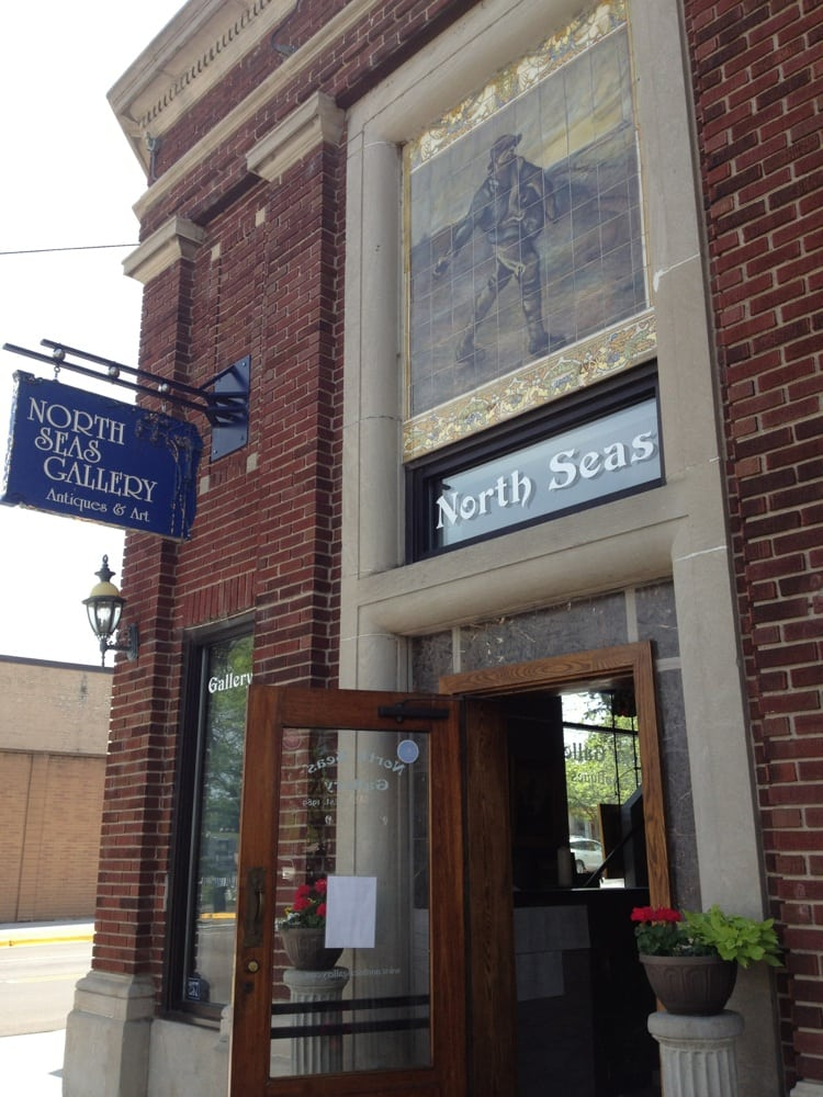 North Seas Gallery & Antiques: 237 Bridge St, Charlevoix, MI