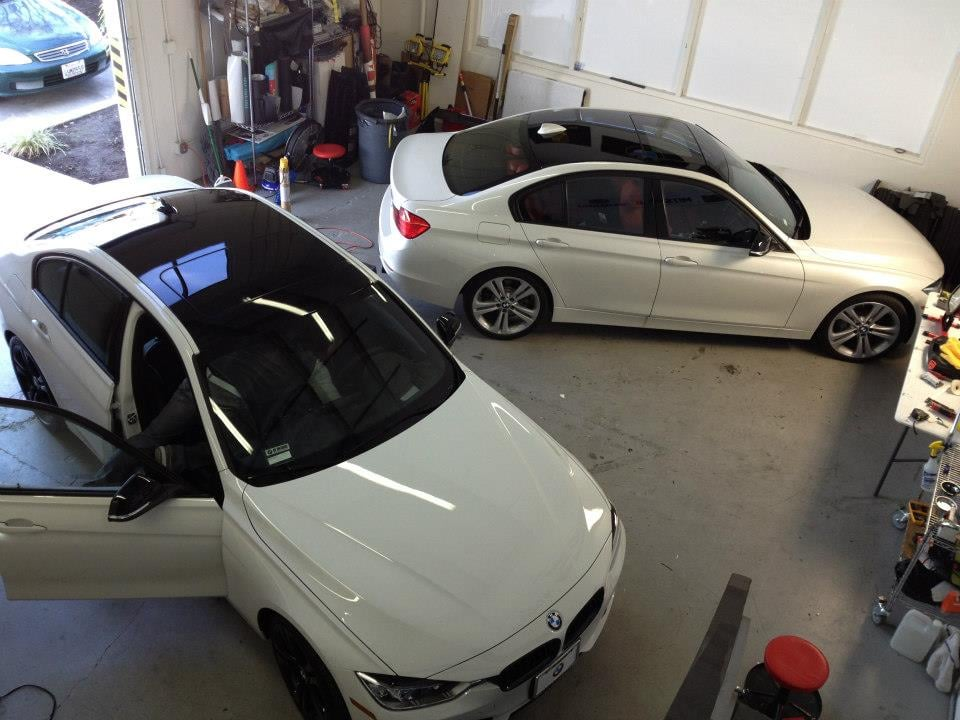 Glossy Black Roof Wraps On Bmw F30 S Yelp