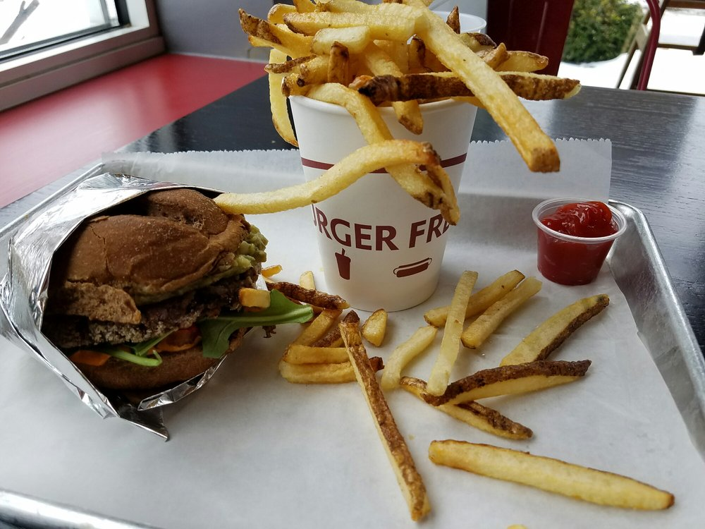 Food from Burger Fresh