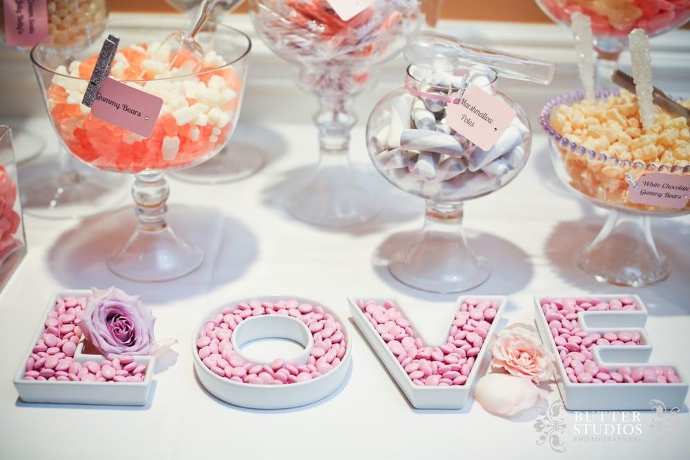 Wedding Reception Candy Buffet Set Up Yelp