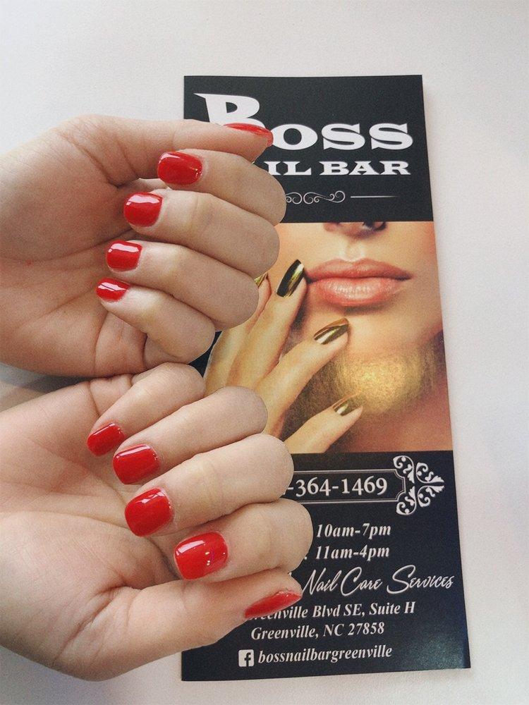 Boss Nail Bar: 302 Greenville Blvd SE, Greenville, NC