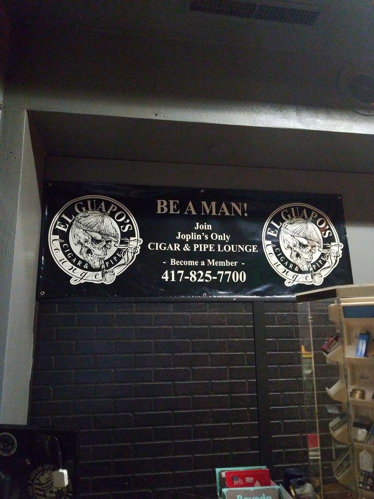 El Guapos Cigar and Pipe Lounge: 532 S Joplin Ave, Joplin, MO